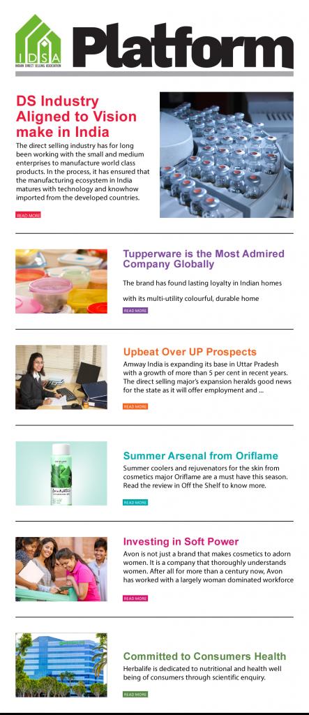 IDSA Platform Newsletter - Large